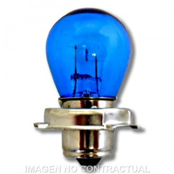 BOMBILLA LAMPARA HERT DE ÓPTICA CICLOMOTOR 12V 18W   2002425L