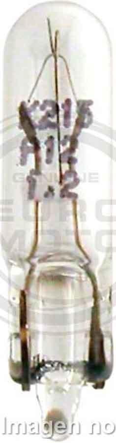 BOMBILLA LAMPARA PHILIPS DE TABLERO T5 W1,2W 12V 1,2W   2012516L
