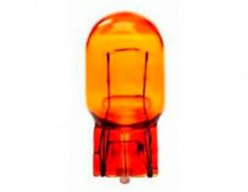 BOMBILLA LAMPARA AMOLUX 12 V / 21W 63A CUÑA GIGANTE ( MARANJAS )