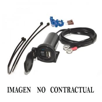 CARGADOR TOMA USB CODE 5V/2A ERCL06     0002