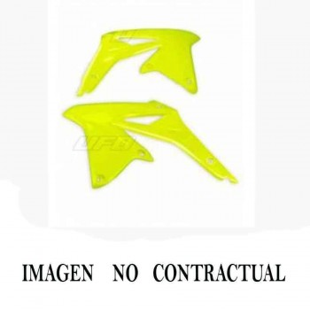 PANELES LATERALES RADIADOR UFO NARANJA/BLANCO KTM EXC/SX/EXC-F/SX-F   4430023598