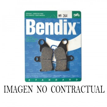 PASTILLAS FRENO BENDIX ORGANICO STANDARD MA212