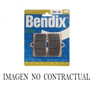 PASTILLAS FRENO BENDIX DELANTERAS SINTERIZADO PARA COMPETICION MRR099