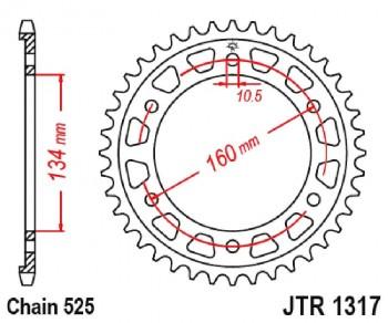 PLATO CORONA  JT 1317 43T