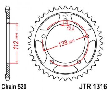 PLATO CORONA  JT 1316 41T ZBK