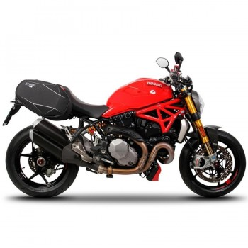 HERRAJES ALFORJAS LATERALES SHAD SE DUCATI MONSTER 1200 '17   D0MN17SE