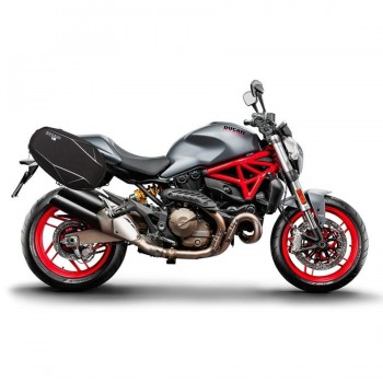 HERRAJES ALFORJAS LATERALES SHAD SE DUCATI MONSTER 821'17   D0MN87SE