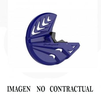 PROTECTOR DISCO FRENO DELANTERO UFO NEGRO HONDA CR125R/250R/500R   4430023001
