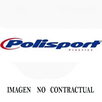 FALDILLA PROTECTORA AMORTIGUADOR POLISPORT  EC 250/300 17-19 NEGRO    8986000003