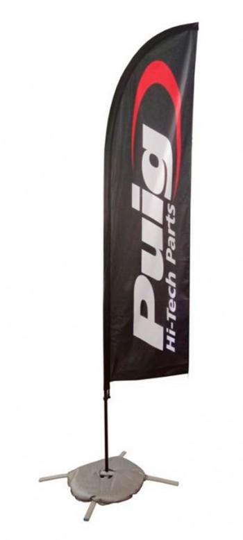 BANDEROLA PUIG 200X90CM PUIG HI-TECH PARTS C/NEGRO   3669N