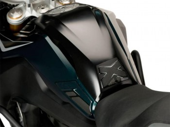 PROTECTOR DEPOSITO PUIG + LATERAL BMW F850GS C/NEGRO   3717C