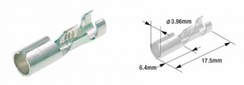TERMINAL CABLE HEMBRA TIPO 110 TOURMAX 2,79MM X100 / B-6  ETP-18   31200003