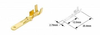 TERMINAL DE CABLE MACHO TOURMAX TIPO 110  ETP-12   89501016