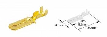TERMINAL DE CABLE MACHO TOURMAX TIPO 250  ETP-30   89501021