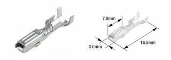 TERMINAL CABLE HEMBRA (BOLSA DE 50 UNIDADES) TOURMAX TIPO 070 (FRA)  ETP-65   89501052
