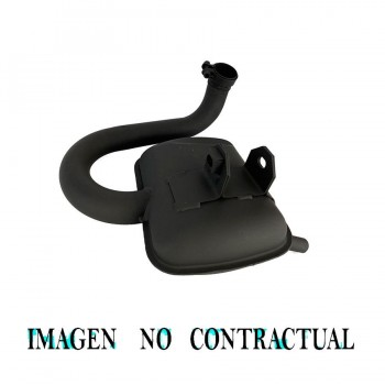 TUBARRO TECNIGAS  SILENCIADOR VESPA 200 TX / IRIS 0307048