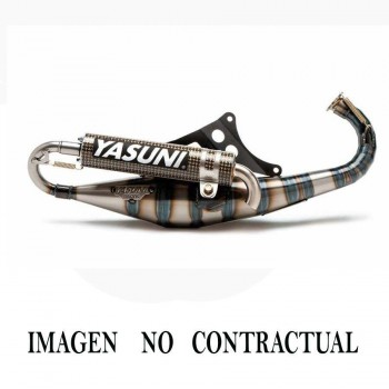 ESCAPE YASUNI (NO HOMOLOGADO) 2T CARRERA 21 SILENC. CARBON-KEVLAR PIAGGIO/GILERA ZIP / RUNNER/NRG /TYPHOON TUB429CK