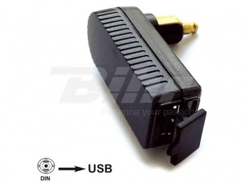 ADAPTADOR CLAVIJA BMW/TRIUMPH BAAS USB4 MINI DIN-USB INTEGRADO   58982