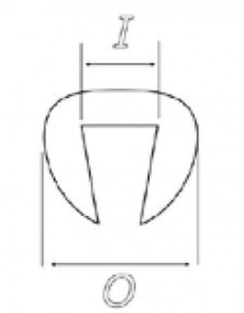 200 MT.BURLETE DE PLASTICO LATEX 6 2X2 6 C/TRANSPA    0900W